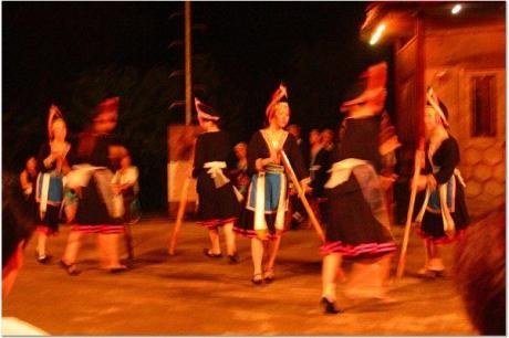 瑤族�舞表演
