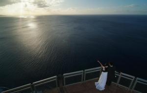 這才叫無敵大海景,地點為情人崖瞭望台。