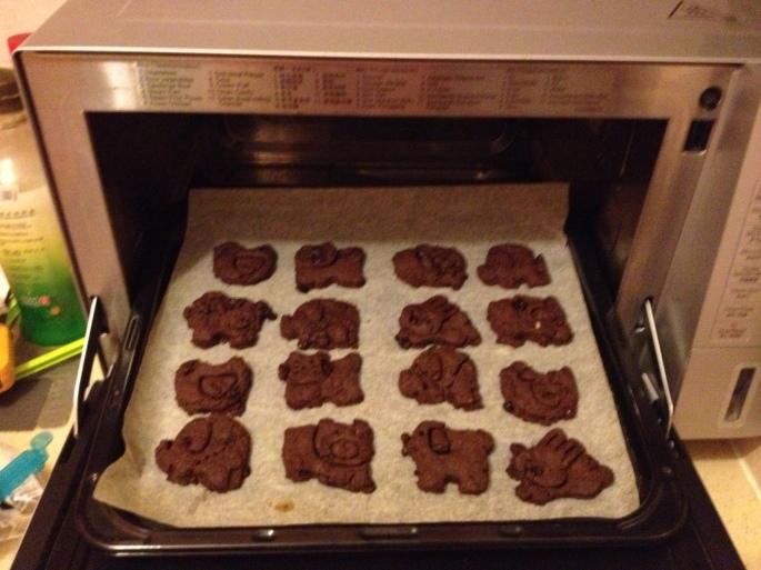 Chocolate Raisin Cookies