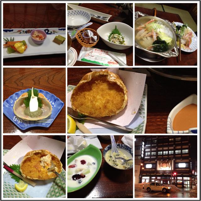 Kanihonkei Crab dinner