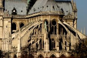 聖母院的飛扶壁(網上圖片)