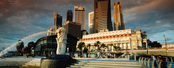 merlion and fullerton