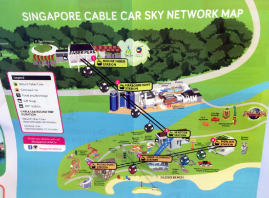cable car map