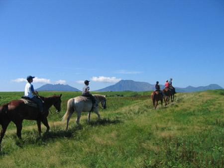 Aso horse riding