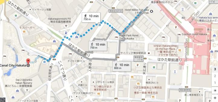 Map Fukuoka