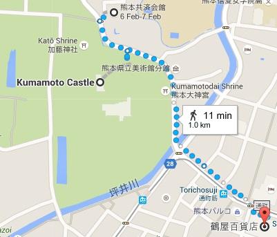 Map Kumamoto
